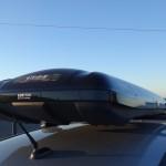 タックル車載:ルーフボックスとロッドホルダー設置