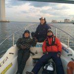 博多湾で鯛ラバ修行のはずが博多湾内でシーバスに!!