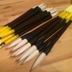 まじゃくのシャク釣りに使う竿代わりの筆「マジャクスティック」を自作してみました!!