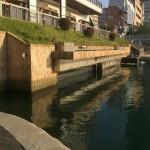 日本でココだけ!!紫川の【塩水くさび】を見ることができる『水環境館』に行ってきました!!