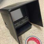 【プラダン!?】を使ってカヤックフィッシング用の魚探HE-601GPⅡの遮光フードを自作しました!