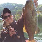 【ラスト1分のドラマ魚!】久しぶりの野尻湖釣行