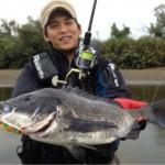 千葉県内房河川の黒鯛釣行!