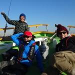 12月13日 渡辺釣り船のシーバス船、開幕!!
