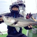 シーバスジギング渡辺釣船再び! 2月11日