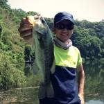 亀山湖のバス修行釣行 with LOOPERS! 6月1日