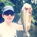 高滝湖バス釣り!古敷谷川の朝練パトロール