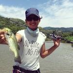 相模湖バス釣りの朝練!初めてBLITZとBLADE JIGで釣れたよ!