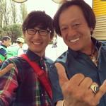 フィッシング祭りinしらこばと2014 でジムと握手!!