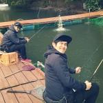 ファミリーやカップルにもオススメ、弁慶でニジマスのエサ釣りに挑戦!