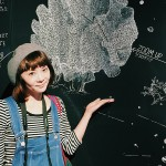 すみだ水族館でいしいチェアマンの作品を見てキタヨ!