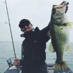 【プロからバス釣りを学ぶ】初夏の琵琶湖でにっしぃガイドを体験!3日目 ついにロクマル降臨!?