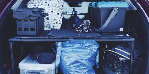 【プチDIY】CX-5の荷室を2階建てに!イレクターパイクでラックを作成してみた!