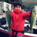 難しいけど面白い秋のリザーバーのバス釣り!合川ダム釣行