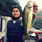 2016年新春初釣り合川ダム月例釣行1月