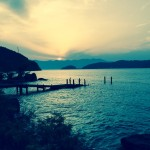 釣り場で出会った素晴らしい風景