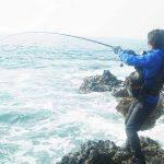 秋の九州釣行:磯ヒラマサをキャッチ