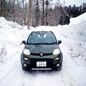 釣りクルマ選び   FIAT  Panda4×4