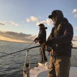 正月に釣り仲間と時を過ごす贅沢