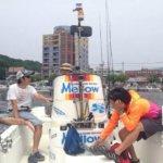 齊藤部員との出会いの日は博多湾でボートシーバス&太刀魚LTジギングでした!!