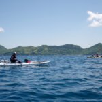 長崎の海にマダイ・イサキ狙いでカヤックフィッシング遠征!今回はベイトがすごいヽ(´Д`;)