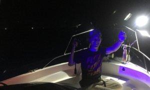 ご近所様に誘われてヤリイカを狙った夜焚きイカ釣行に行って来ました!