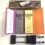 自宅で刺身包丁のメンテナンス!シャプトン 刃の黒幕の購入レポート&用途や使い分け方法をご紹介!