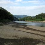9/13 相模湖はさらに減水中…。