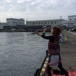 三浦半島の三崎港でエギング初挑戦!