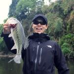 亀山湖にて木本部員にバス釣りを教えてもらう会 5月6日
