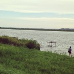 初めての霞ヶ浦・利根川水系でバス釣りに挑戦!8月1日