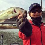 トルキーストレートの巻きネコは本当に釣れた!!利根川水系にて11月17日