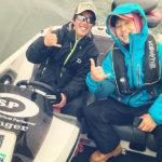 ただいま琵琶湖遠征中! スイムジグ修行中です