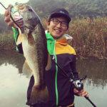 【チビタレル】秋の高滝湖、古敷谷川でギルパターンを再検証してみた!
