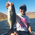 【アメリカでバス釣り】サンディエゴのエル・キャピタン貯水池でD-スパイカーが大活躍!