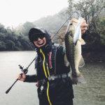 【晩秋の三島ダム】バス釣りにもレンタル解禁された三島湖でダヴィンチやブルフラットで良型キャッチに成功!