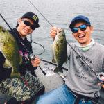 【桧原湖ガイド】高梨洋平プロのガイドで虫やフットボールの釣りを学んできた!!