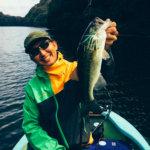 【秋の亀山でスピナーベイト】イギリスで知り合った若者と日本で再開して釣りしてきた!