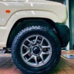 【オフロードタイヤ】ジムニーのタイヤをTOYOのOPEN COUNTRY R/Tに履き替えてみた!