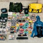 バスマスター・オープン参加に向けて用意したタックルや荷物類について【のび太のバスマスター挑戦 その3】