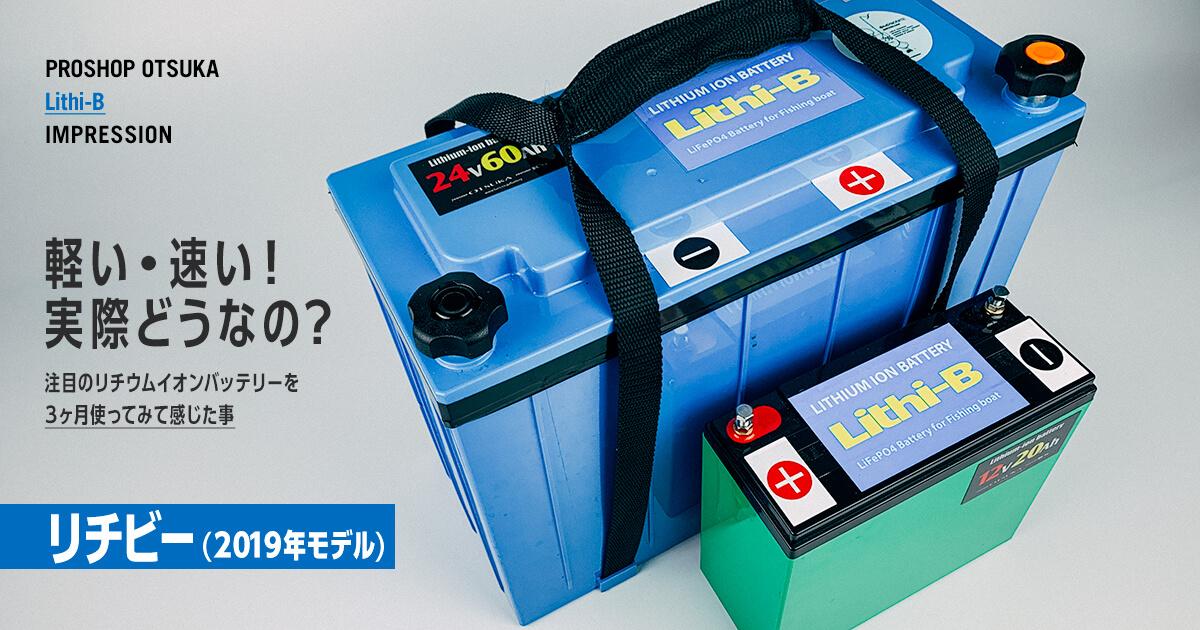 リチウム イオン バッテリー