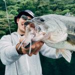 【ブリキャン】良型のバスがレゼルブを襲った!芦ノ湖で釣り+キャンプのはずがお泊まり会に!?