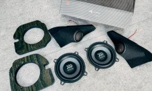 【スピーカー交換】音質の悪い新型ジムニー(JB64)の純正スピーカーをモレルのスピーカーに交換して音のいい釣り車に進化した!