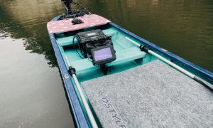 【贅沢装備】14ftでツライチ・ハイデッキ&リアデッキ+リア魚探(ライブスコープ )を試してみた!