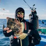 【部活動】BURITSU忘年会の食材調達!カワハギをみんなで釣りにいってきた