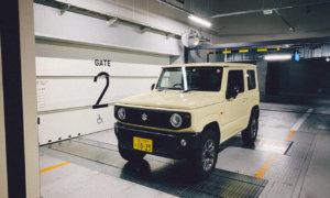 【燃費も少しアップ?】機械式駐車場が利用したくてジムニー(JB64)のスペアタイヤを外してみた