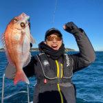 【シースタイル】大晦日は東京湾のタイラバで真鯛4枚と最高の釣り納めができました!