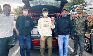 【東京湾冬タチ2020】こうゆう丸で太刀魚ジギングオフ会!厳しいながらも楽しく釣りができました!