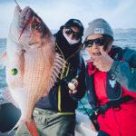 【FxF KIX】和歌山の加太沖でジャッカル田中亜衣さんからタイラバを学んできたよ!