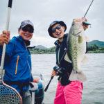 【truth】平村尚也プロガイドで台風直後の激濁り琵琶湖をディグル、リルビルで釣らせてもらった!